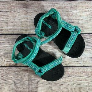 Teva Teal Hurricane Kids Water Shoes